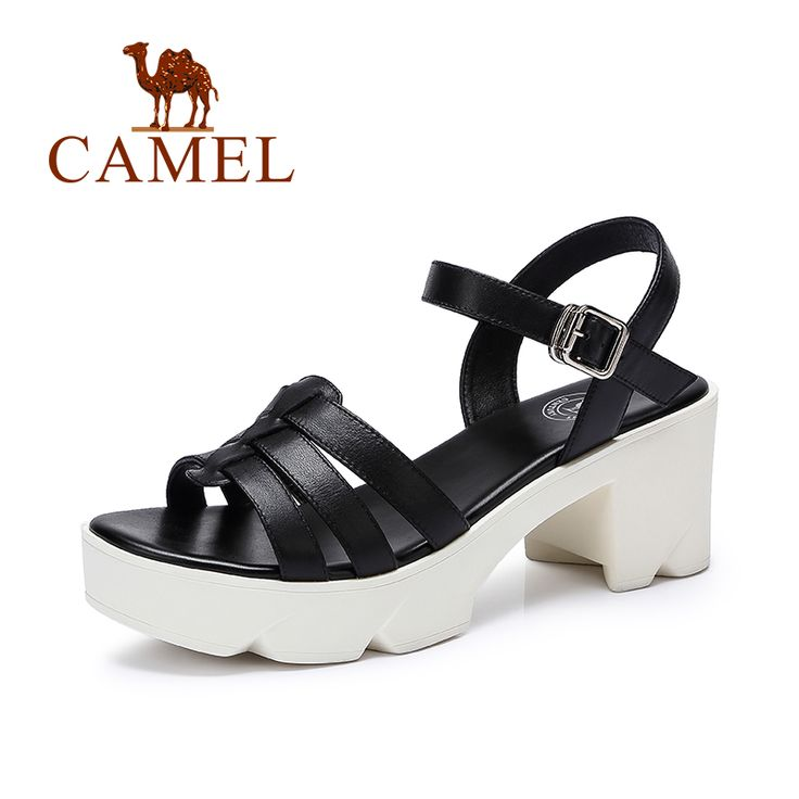 >> Click to Buy << Camel casual sandals 2016 fashion women leather sandals high-heeled sandals 2016 new summer sandals t #Affiliate