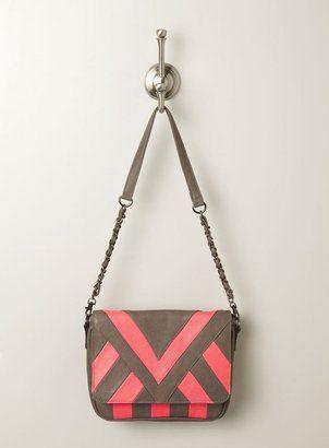 Melie Bianco Nita Neon Striped Crossbody Bag Melie Bianco