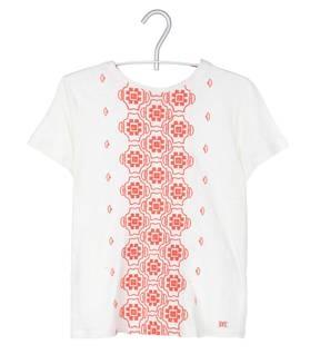 Tee shirt blanc brodé - 115€ - Maje