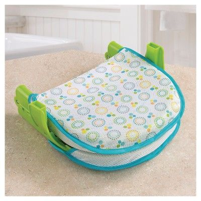 Summer Infant Folding Bath Sling with Warming Wings, Green