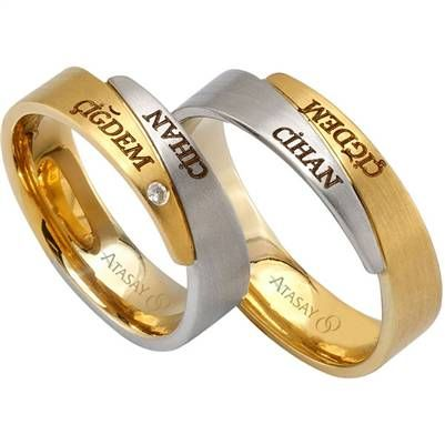 Atasay Online Mağaza | Çiftlere Özel İsimli Alyans