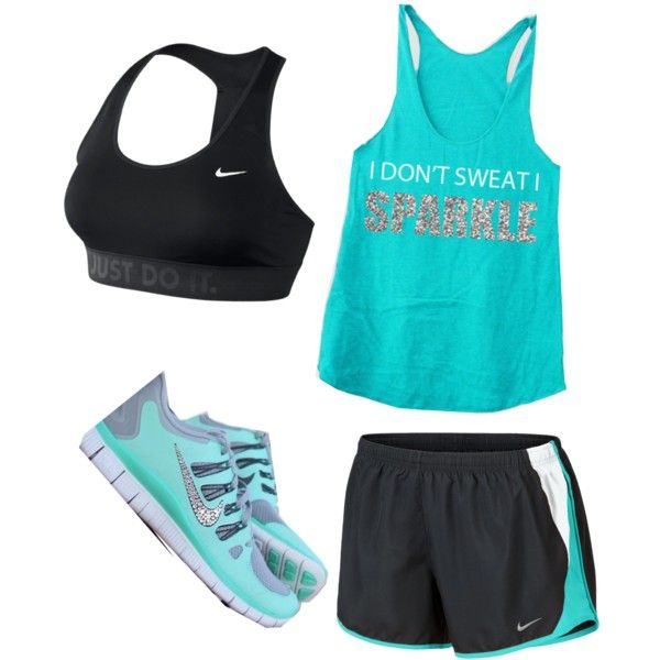 Cute running outfit