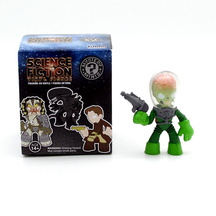 Mystery Minis Science Fiction Series 1 Mars Attacks