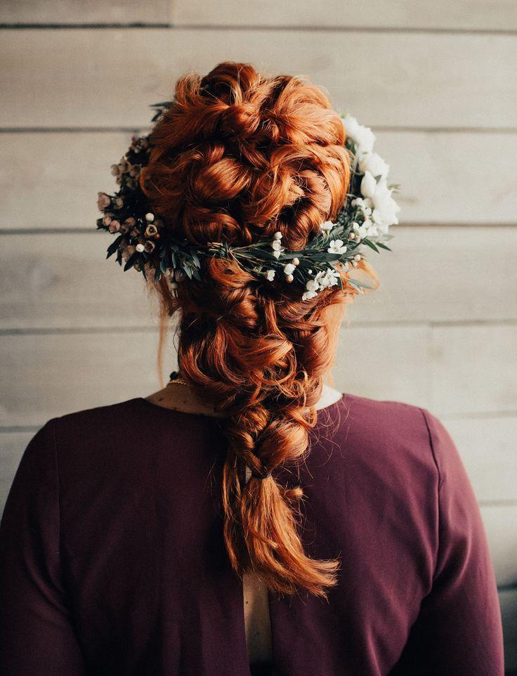 whimsical bridal braid