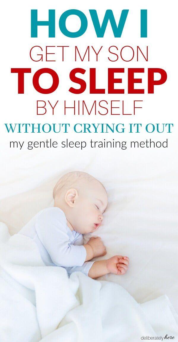How To Get Your Baby To Sleep Without A Fight Gentle Sleep Training Sleep Training Methods Newborn Baby Sleep