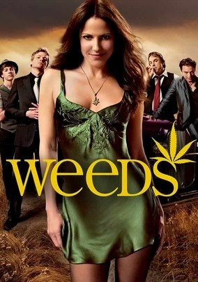 WEEDS (2005) - Nancy Botwin (Golden Globe winner Mary-Louise Parker) takes a big hit when her husband dies suddenly and she's left struggling to maintain her comfortable lifestyle -- so the suburban soccer mom summons up her inner entrepreneur and starts selling pot brownies to her affluent neighbors. But her baked-goods business turns out to be a gateway to much more serious stuff, and soon she's dealing with money laundering, mobsters and the DEA.