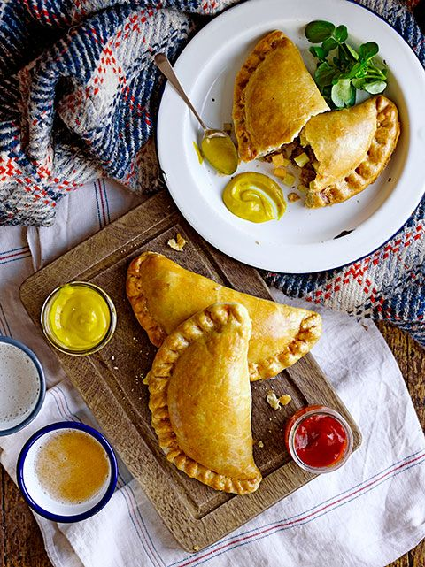 How to make Cornish Pastries via Jamie Oliver