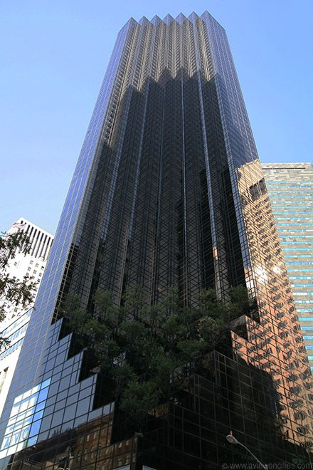 NYC. Trump Tower on 5th Avenue.