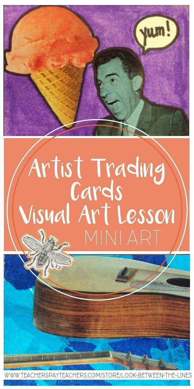 Artist trading cards artist trading cards visual art