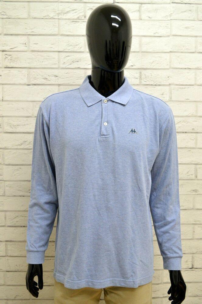 competitive price c99bf 30b4c Polo Uomo KAPPA Taglia XL Maglia Maglietta Camici Shirt Man ...