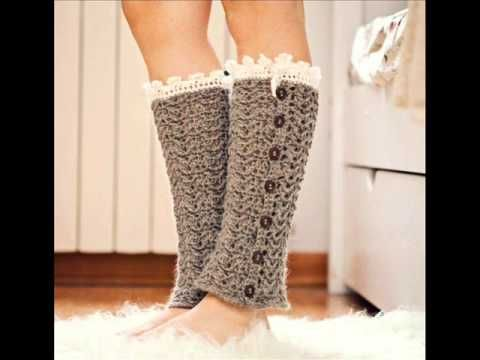 Luxury Leg Warmers Crochet Pattern - Pattern Presentation