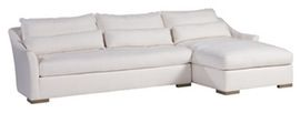 Winston 2 Pc Sectional  Transitional, Upholstery  Fabric, Seating by Lillian August