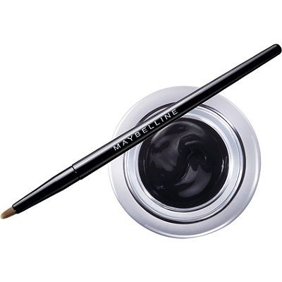 MaybellineEye Studio Lasting Drama Gel Eyeliner. Supposed to be long lasting and easy on sensitive eyes.