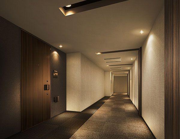 内廊下 Google 検索 共用廊下 Hotel Hallway Hotel Door Arch Hotel
