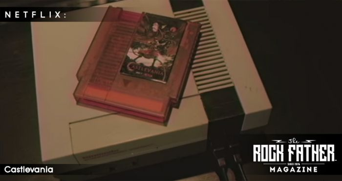 Blow Into the NES Cartridge for the First Teaser for the Netflix Original Series Castlevania! via @therockfather