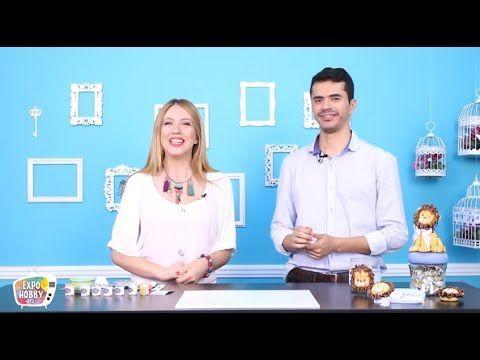 Expohobby TV - Diego Dutra - Leoncitos Souvenirs - YouTube