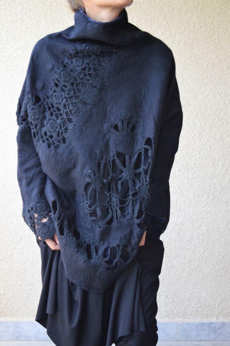 Nuno felt blouse By Ia Gulisashvili