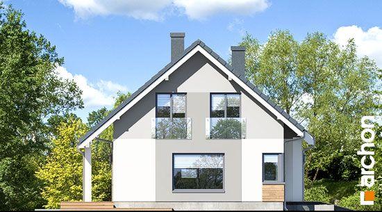 Elewacja boczna projekt dom w zloci a  266