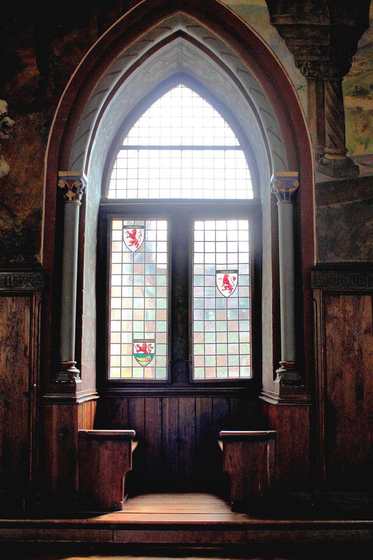 Lovely window in Solingen Castle.