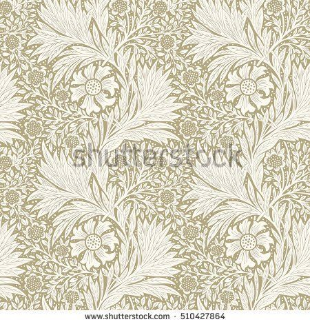 Floral pattern for your design. Modern seamless pattern for interior decoration, wrapping paper, graphic design and textile. Vector illustration. Background.