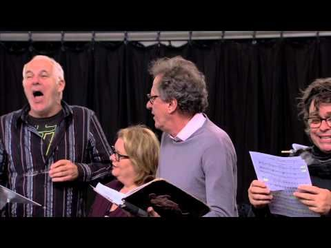 A Funny Thing Happened on the way to the Forum: The Cast rehearse Comedy Tonight - YouTube