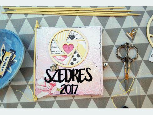 Scrapbook mini album | ScrapBolt.hu Blog