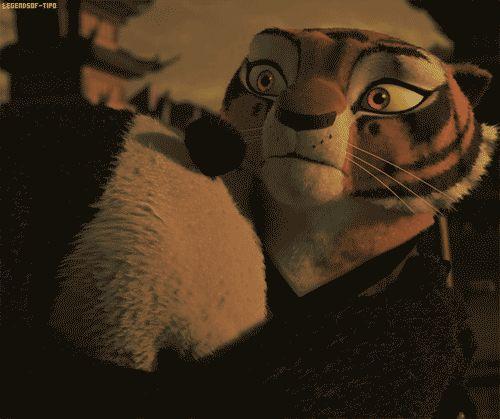 Po x Tigress forever! Kung Fu Panda