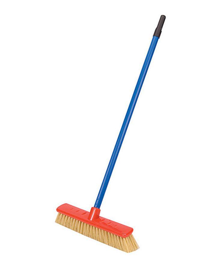 Look at this #zulilyfind! Push Broom by Schylling #zulilyfinds
