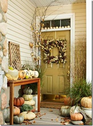 Pumpkins, lots of pumpkins.