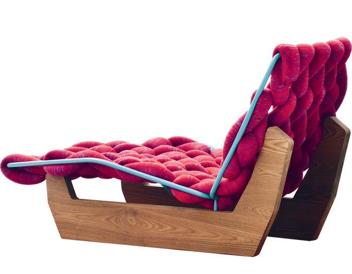 Biknit chaise lounge chair deco design pinterest for Antibodi chaise longue by patricia urquiola