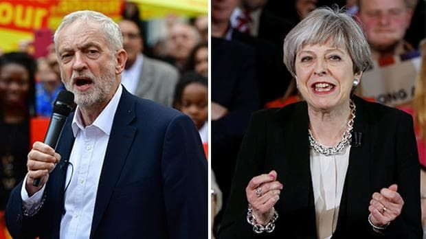 Opinion Poll: Who Will Be Britain's Next Prime Minister?   Theresa May vs. Jeremy Corbyn - POLIRANTS