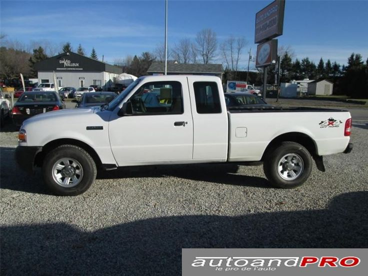 """Truck - 2008 Ford Ranger XL 4X4 in Sherbrooke, QC $9,995"""
