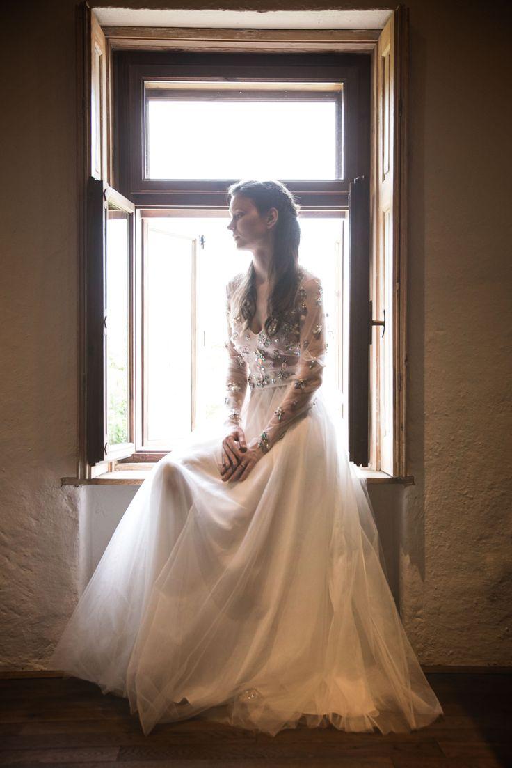 Gyönyörű esküvő gyönyörű menyasszony - beautiful vintage wedding photography Firling fotó és videó Pécs