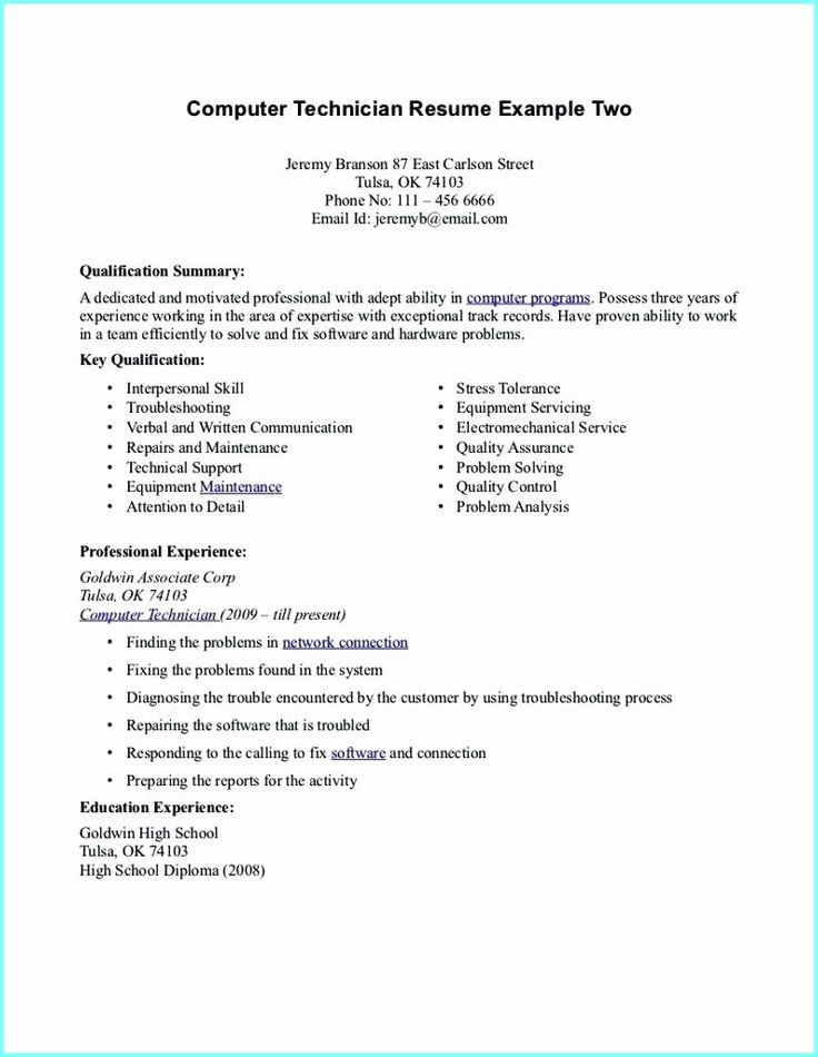 38++ Pharmacy technician sample resume entry level Resume Examples