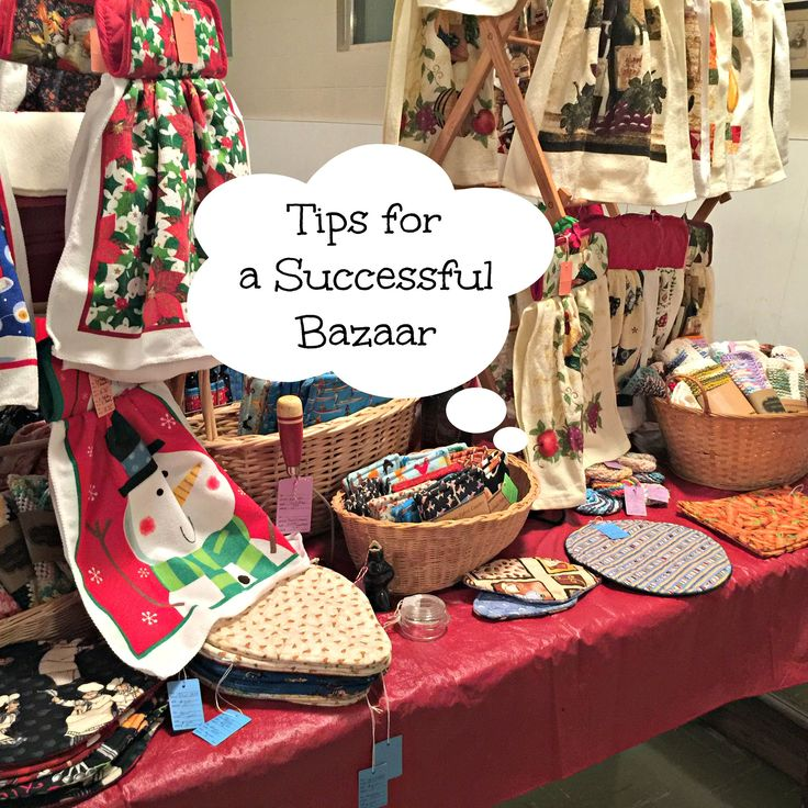 bazaar craft ideas tips on holding a successful bazaar and what we 1102