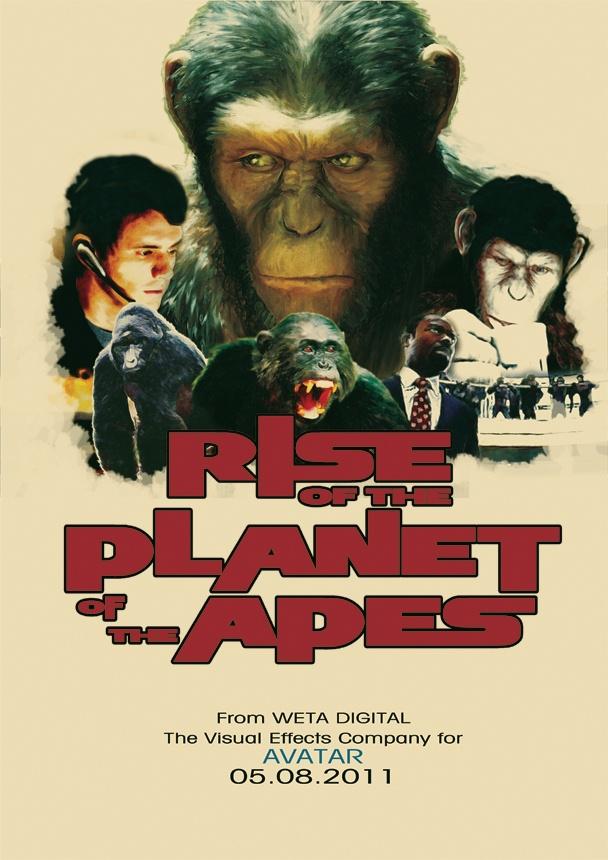 Rise of the Planet of the Apes (titulada El planeta de los simios (R) Evolución en Hispanoamérica y El origen del planeta de los simios en España y también en algunos paises de Hispanoamérica) es una película estadounidense de ciencia ficción y acción. El filme está dirigido por Rupert Wyatt y se estrenó en los cines de Estados Unidos el 5 de agosto de 2011.