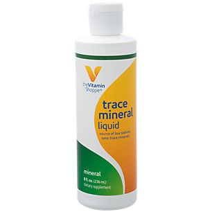 Trace Mineral Liquid (8 Fluid Ounces Liquid)  at the Vitamin Shoppe