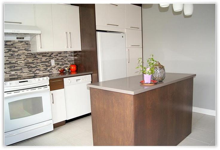Cuisine Equipee Ikea Avis : Cuisine contemporaine  Modèle blanc zen  Cuisine  Salle à manger