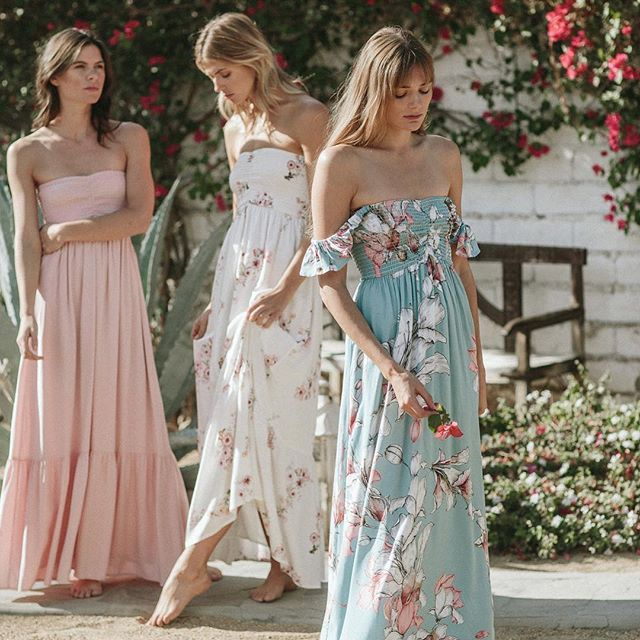 long, mismatched, wedding, short, floral, watercolor, blush, blue, fall, summer, spring, country, vintage, neutral, lavender,  green, gray, beach, unique, boho, bohemian, pink, coral, sage, plum, teal, peach, yellow, white, taupe, mauve, dusty rose, off the shoulder, strapless, bridesmaid dress