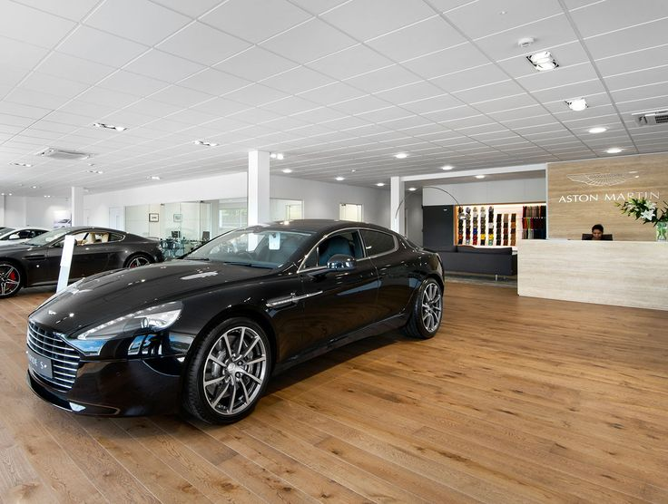 Aston Martin & Bentley Montreal selected Havwoods Oak Arena engineered timber flooring from our Venture Plank range, as a perfect fit for their new showroom.