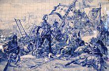 Estação Ferroviária de Porto - São Bento – Wikipédia, a ... pt.wikipedia.org220 × 144Pesquisar por imagens Painel de azulejos no interior da Estação, retratando o Infante D. Henrique na conquista de Ceuta.