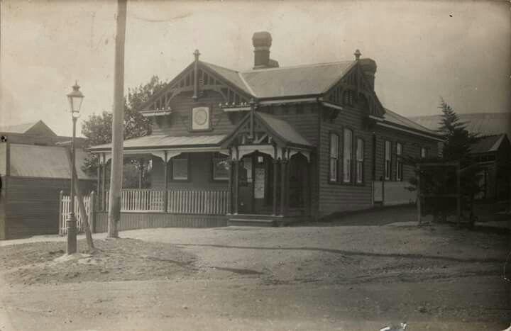 The Post Office,Gordon, Victoria. State Library of Victoria.