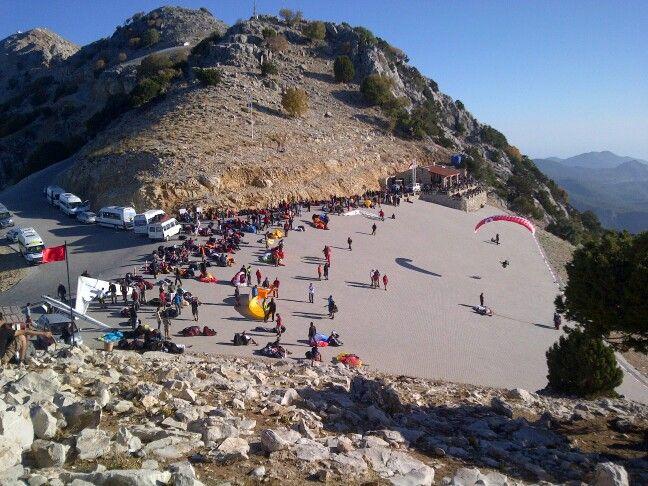#Paragliding #Oludeniz #Turkey #LaunchArea #Level1