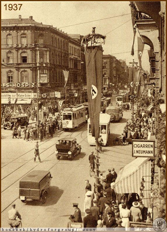 ul. Piłsudskiego Józefa, marsz. 101-103 / Hotel Germania (dawny)  Dolny Śląsk / Wrocław / Kalendarium wydarzeń 1937 / 1937 - XII Ogólnoniemiecki Zjazd Śpiewaczy