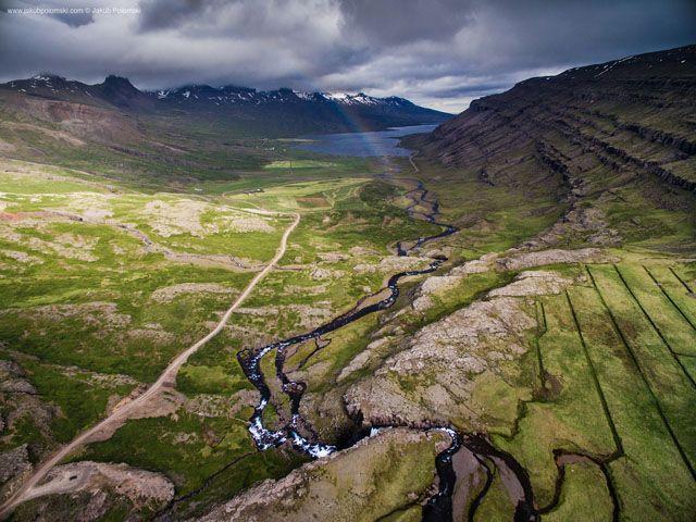 Back in July, Polish landscape photographer Jakub Polomski spent two weeks traveling around Iceland and shooting aerial photographs with his DJI Phantom 3