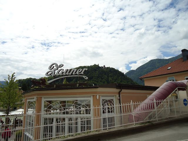 Zauner Cafe in Bad Ischl (near to Traun River)