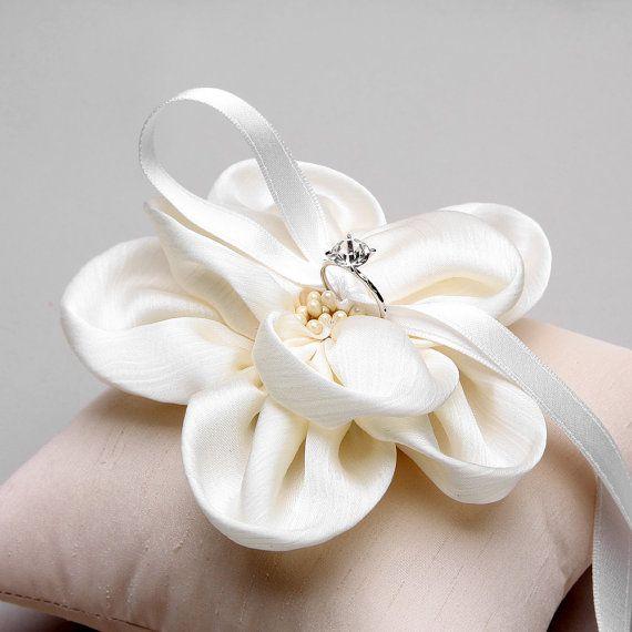 Anello cuscino cuscino anello nuziale anello di woomeeBridal