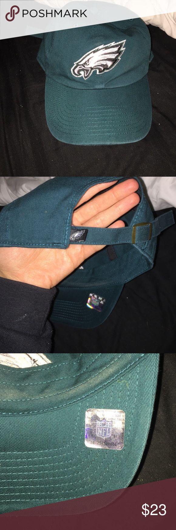 NFL Philadelphia Eagles adjustable hat NFL Philadelphia Eagles adjustable hat. worn a few times. NO TRADES Macy's Accessories Hats