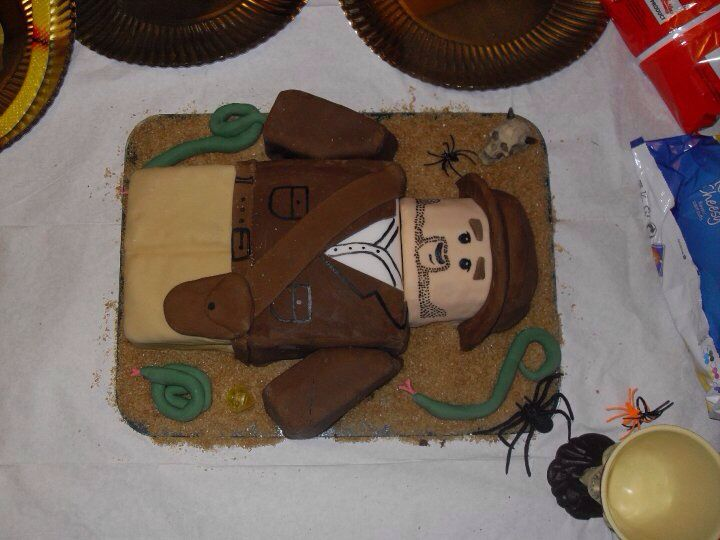 Lego Indiana jones bday cake!!!