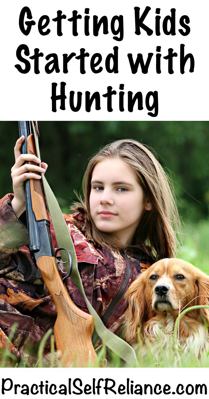 Getting Kids Started with Hunting - Practical Self Reliance